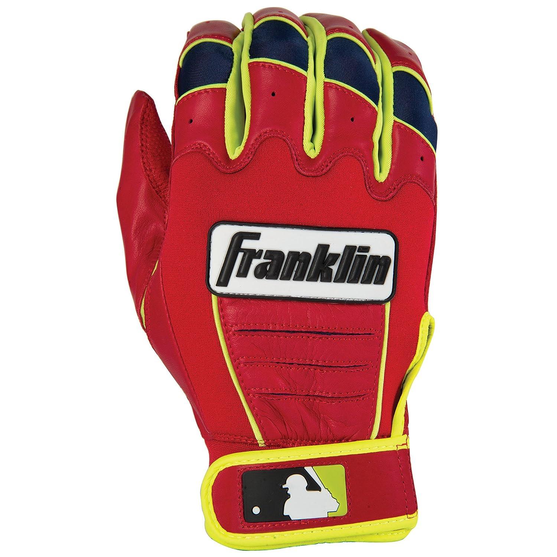 Franklin (フランクリン) スポーツ MLB CFX Pro バッティング グロ―ブ B013LPT5LA Small Red/Optic Yellow Red/Optic Yellow Small