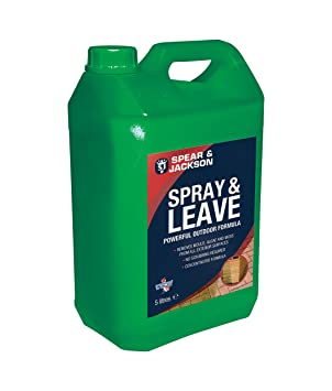 Spear U0026 Jackson Spray And Leave Concentrated Mould, Algae And Moss Remover  5 Litre