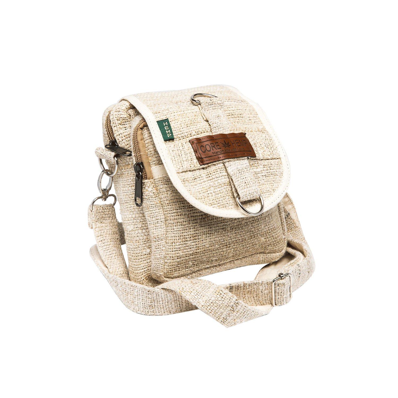 ebb0bd75515d Core Hemp Messenger Bag Crossbody Shoulder Bag Waist Bag