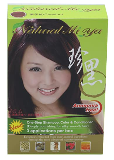 Amazon Com Natural Mi Ya Hair Color Herbal Hair Dye Hair