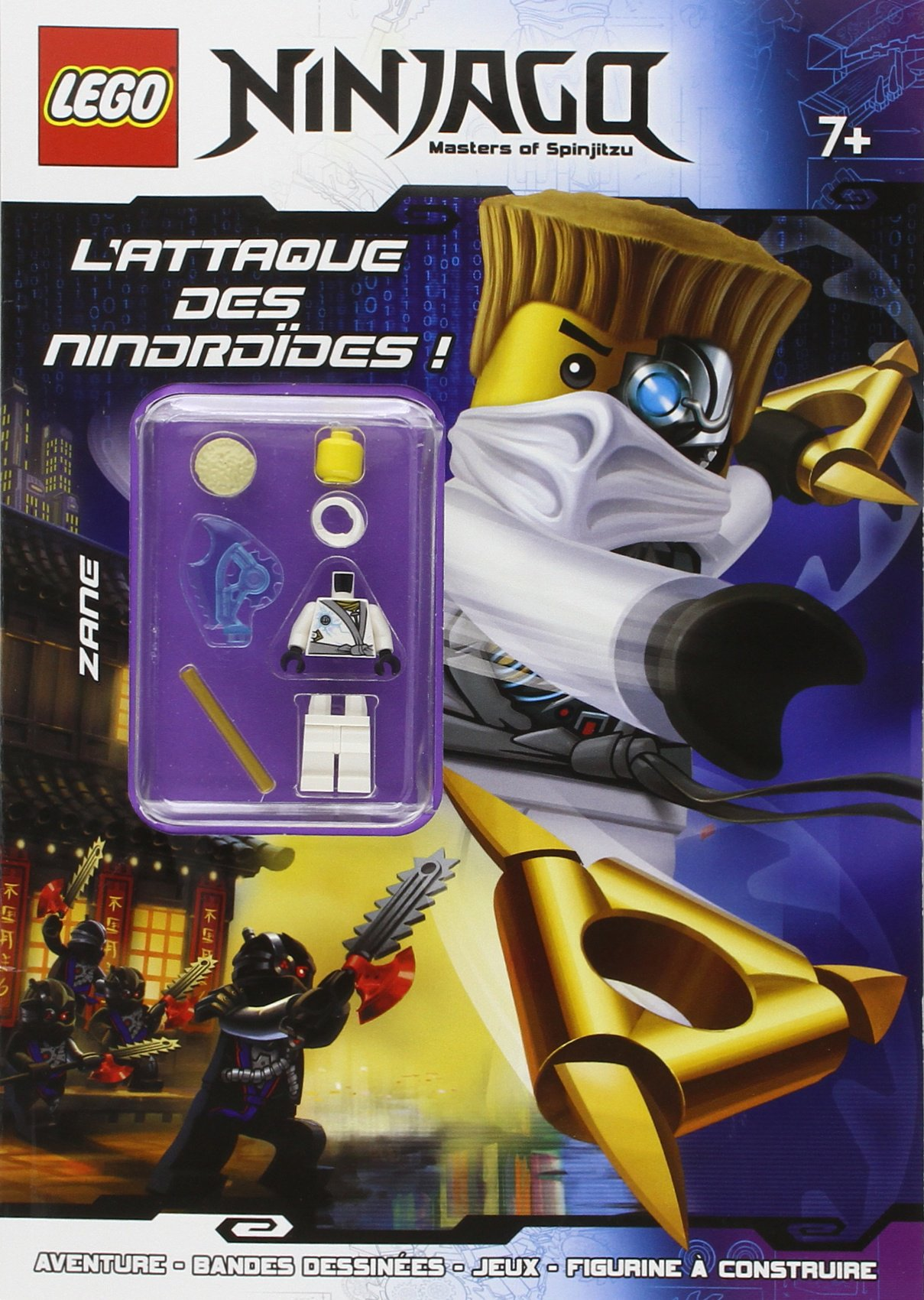 LEGO NINJAGO LATTAQUE DES NINDROIDES (TOURNON LEGO): Amazon ...