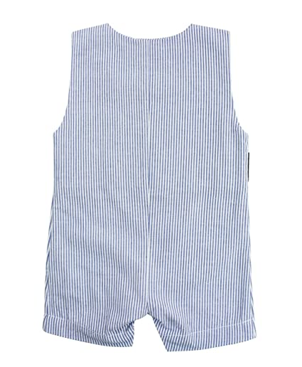 006168cd1 Amazon.com  RuggedButts Baby Toddler Boys Jon Jon Romper One-Piece ...