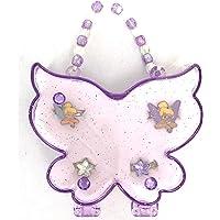 Disney Parks Tinker Bell & Stars 4 Adjustable Ring Set Fairy Wing Gift Box
