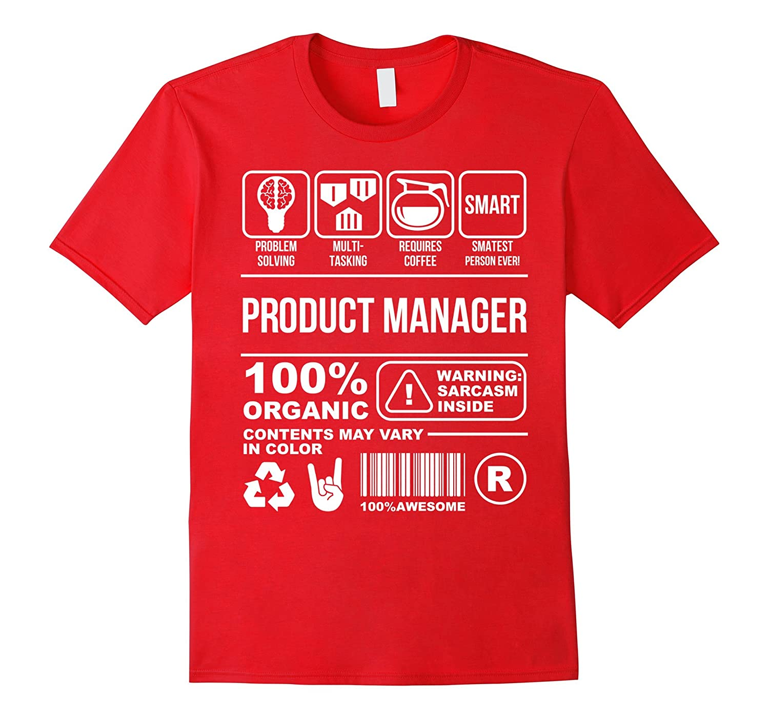 Awesome Graphic Product Manager T-Shirt Gift Ideas-Rose