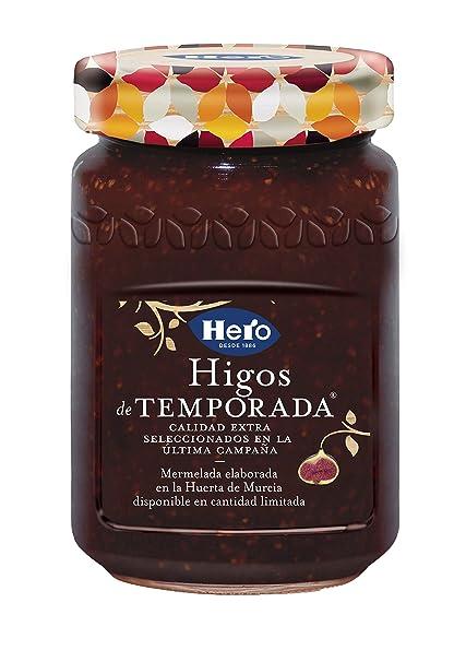 Hero - Higos - Mermelada Extra de Higos de Temporada - 350 g: Amazon.es: Alimentación y bebidas