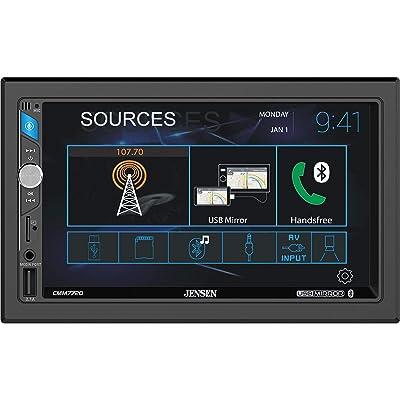 Jensen CMM7720 7 Inch Touchscreen Digital Multimedia Receiver: Electronics