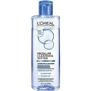 L'Oréal Paris Micellar Cleansing Water Complete Cleanser, 13.5 fl. oz.