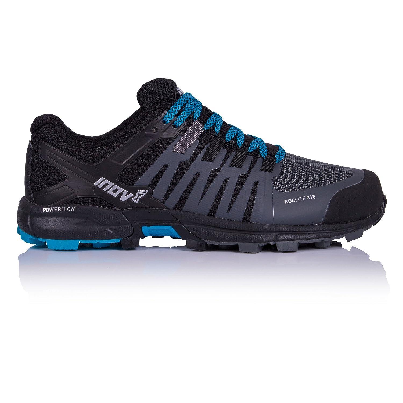 noir 46.5 EU Inov8 Roclite 315 Chaussure Course Trial - SS18