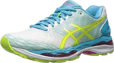 rebanada Continuación consumo  Amazon.com: ASICS - Nimbus 18 - tenis de gel para mujer: Asics: Shoes