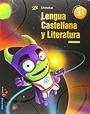 Lengua 1º Primaria (Cuadrícula) (Tres Trimestres) +: Lecturas Superpixépolis - 9788426392848