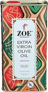 ZOE Extra Virgin, Olive Oil, 33.8 Fl Oz