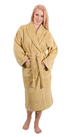 Clothing, Shoes & Accessories Luxury Bathrobes For Men Women 100% Pure Cotton Hooded Style Terry Towelling Lustrous Bath