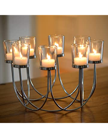 c4c55fa1640 Beautiful Tea Light Glass Candle Holder Wedding Christmas Table Centrepiece  Decoration