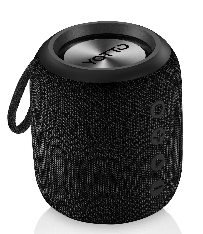 YOTTO Bluetooth Speaker Portable 12W IPX6 Waterproof, Wireless Speakers with…