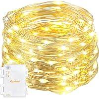 Oak Leaf 9.8-Foot 60-LED Fairy String Lights