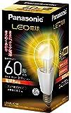パナソニック LED電球 口金直径26mm  電球60W形相当 電球色相当(8.2W) 一般電球・クリアタイプ LDA8LCW