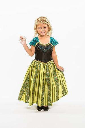 reine des neiges princesse anna couronnement robe - Robe Anna Reine Des Neiges