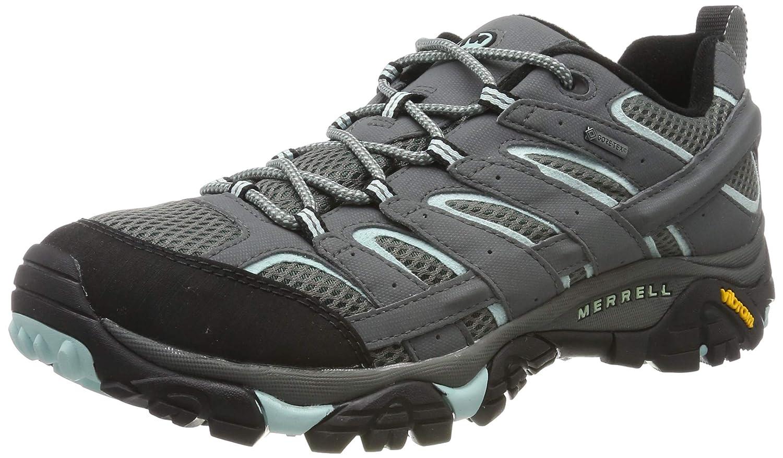 gris (Sedona Sage) 42.5 EU Merrell Moab 2 GTX, Chaussures de Randonnée Basses Femme