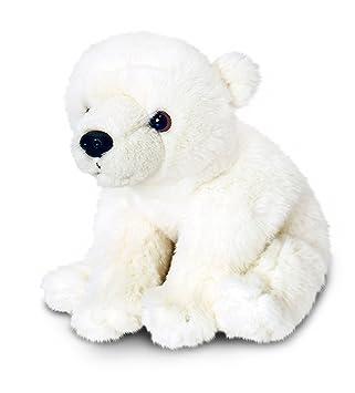 3cc43eb2193cd POLAR BEAR 30CM- Keel Toys- Plush cuddly soft toy  Amazon.co.uk ...