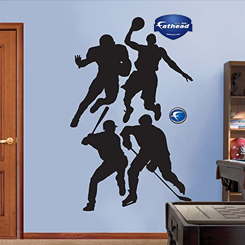 Assorted Sports Athletes Silhouettes