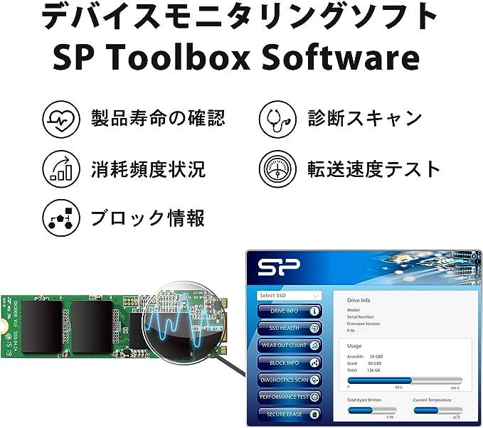Silicon Power SSD Disco Duro Solido Interno Ace A55 M.2 2280 (3D ...