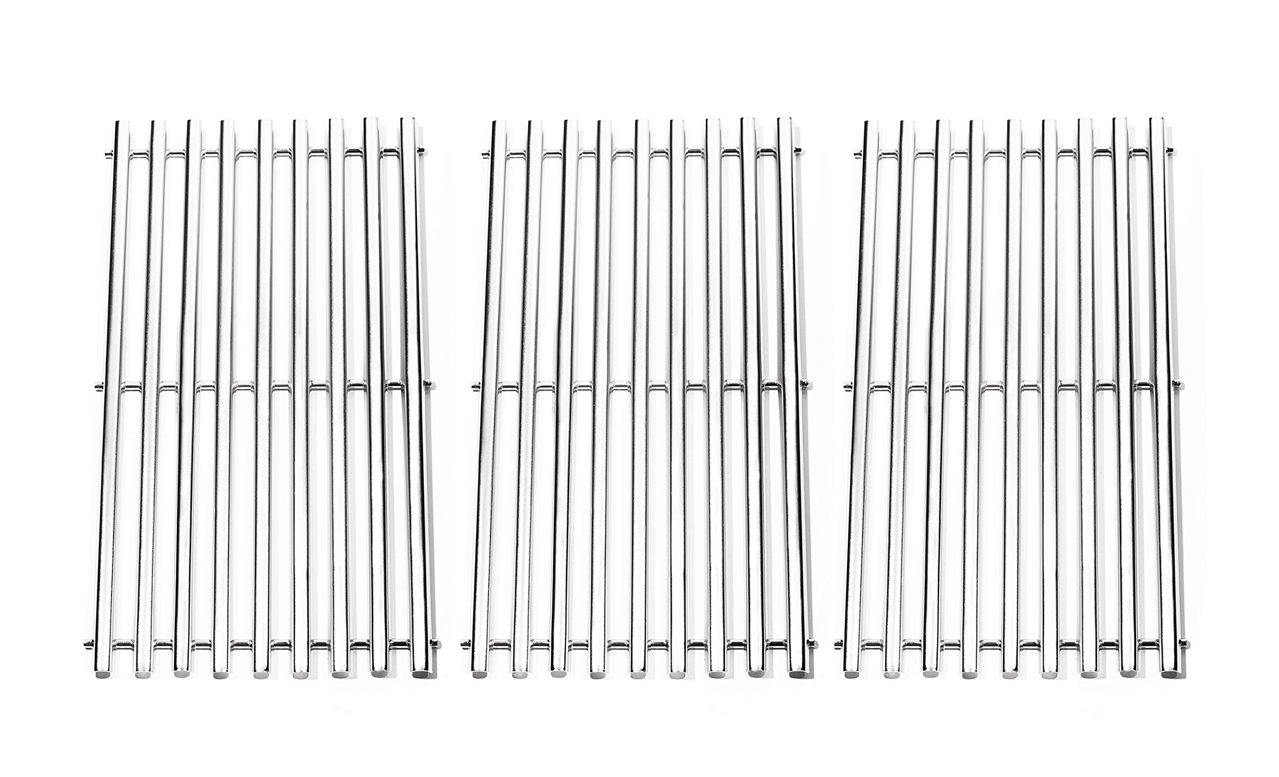 BBQration Stainless Steel Channel Cooking Grid Replacement for Gas Grill Model Charbroil 463440109, Sold as a set of 3 by BBQration