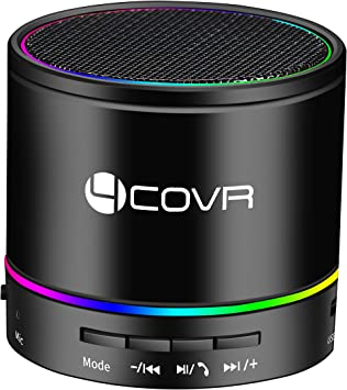 Amazon Com Wireless Bluetooth Speaker Forcovr Mini Led Best Multi Function Portable Indoor Outdoor Stereo Bluetooth Speakers Bass Hd Surround Built In Microphone Fm Radio Handsfree Call Aux Input