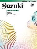 Suzuki Cello School, Vol 1: Cello Part (Book & CD)