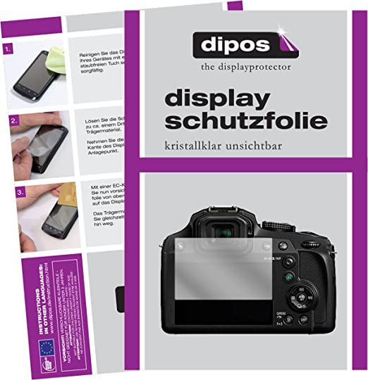 Dipos I 6x Schutzfolie Klar Kompatibel Mit Panasonic Computer Zubehör