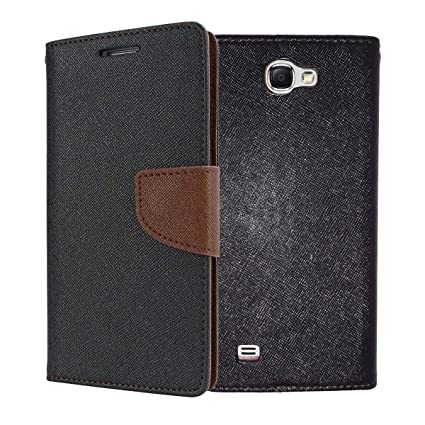 san francisco 306f9 be0e0 ORC - Samsung Galaxy Note II N7100 Flip Cover - Luxury Mercury Diary Wallet  Style, Flip Cover for Samsung Galaxy Note II N7100 (Brown)