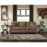 Signature Design by Ashley Larkinhurst Sleeper Sofa, Queen, Earth