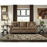 Signature Design by Ashley Larkinhurst Sleeper Sofa, Queen, Earth