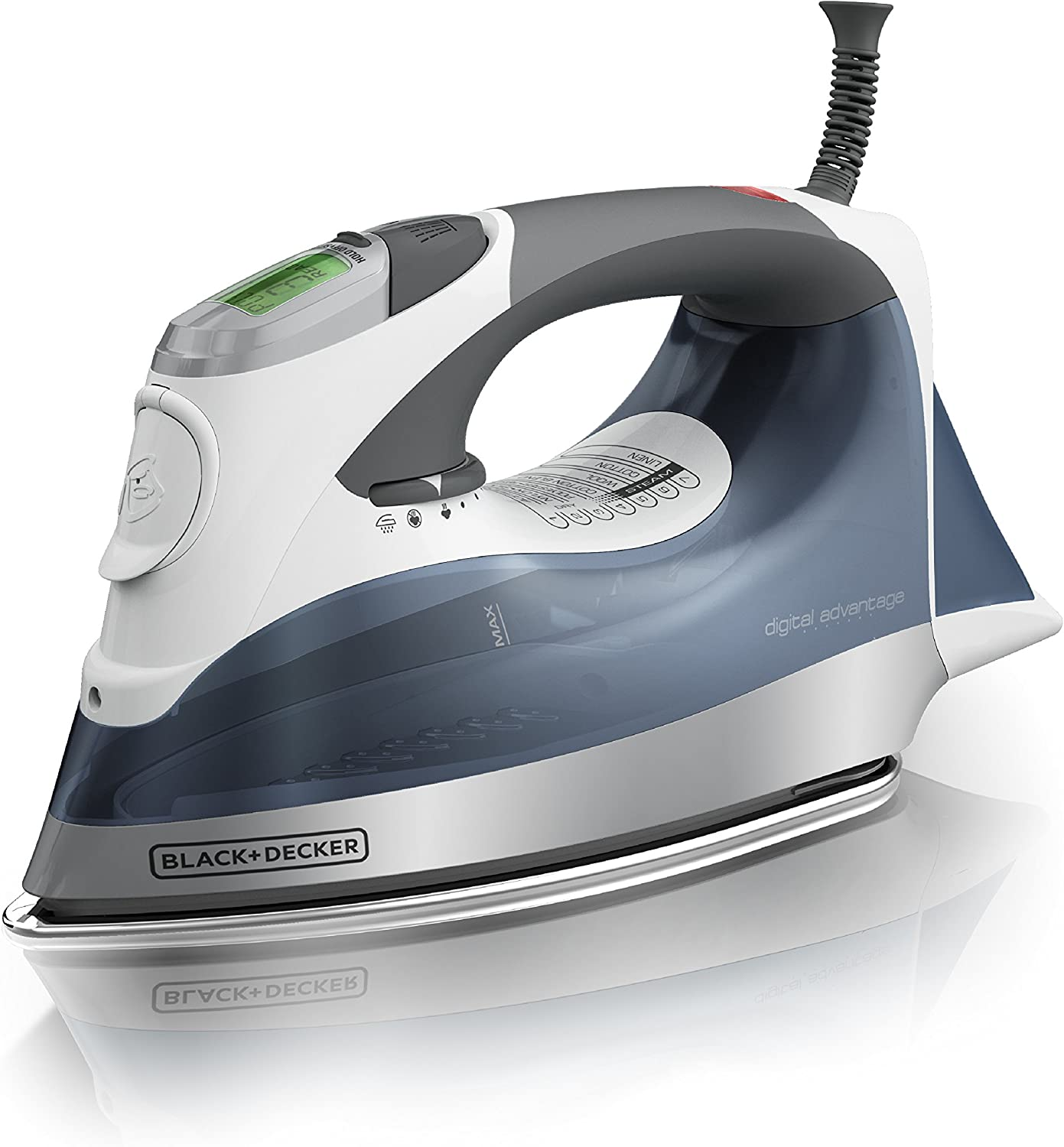 Black + Decker Digital Advantage Professional Steam Iron