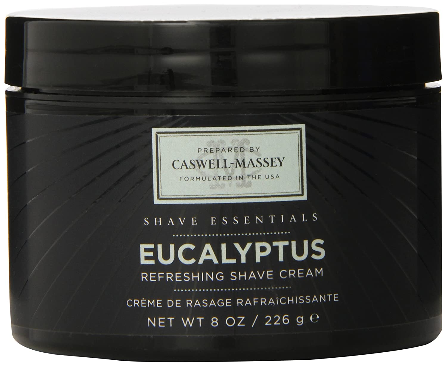 Eucalyptus Shave Cream Jar, 8 Oz. 0.6796875-Pounds Fab Products CA