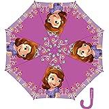 Arditex - 078160 - Parapluie Avec Ouverture Automatique - En Polyester - Licence La Petite Princesse Sofia - 8 Bâtonnets - 48 Cm