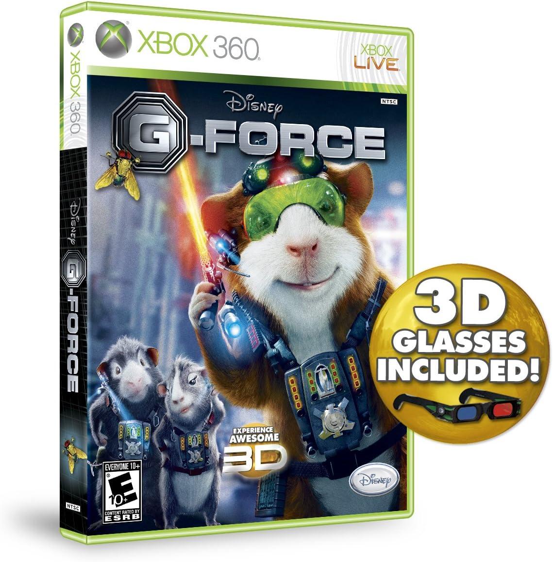 Amazon com: G-Force - Xbox 360: Video Games