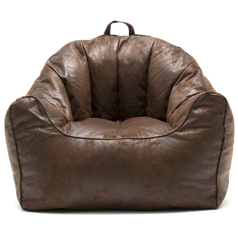 Big Joe Large Hug Bean Bag Chair in Espresso by Big Joe 673404