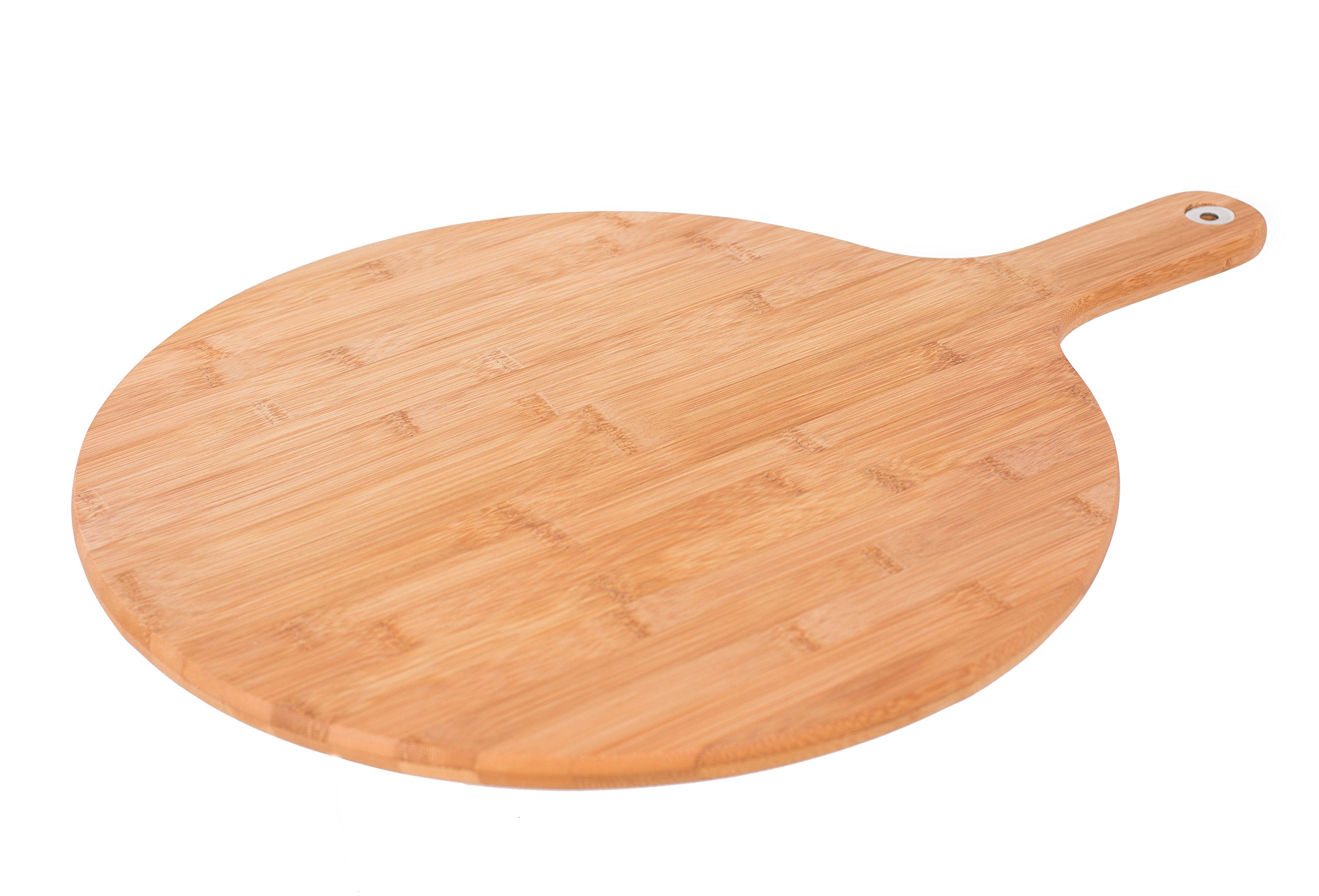 BirdRock Home Bamboo Paddle Cutting Board | Large