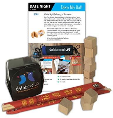 Date Night Box: This Creative Date Night for Couples is Ready to Open and Enjoy! Adorable