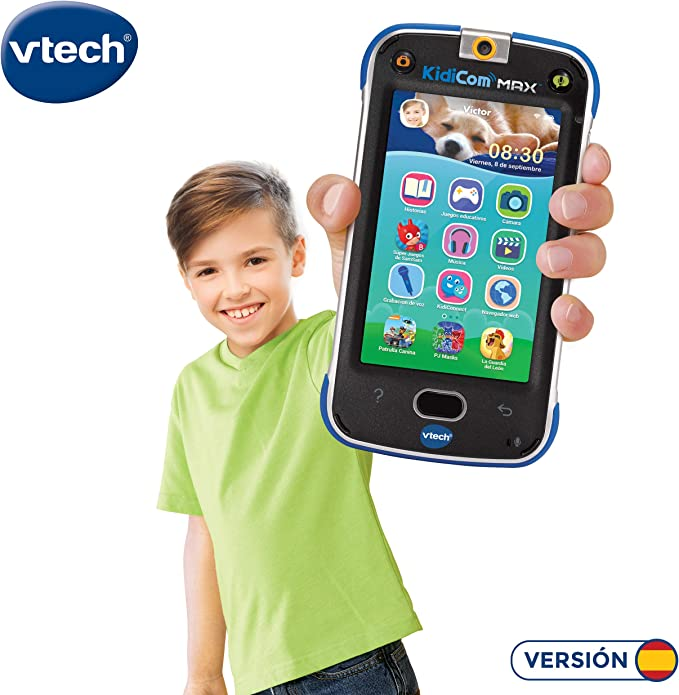 Amazon.es: VTech Dispositivo multifunción Kidicom MAX, Color Azul ...