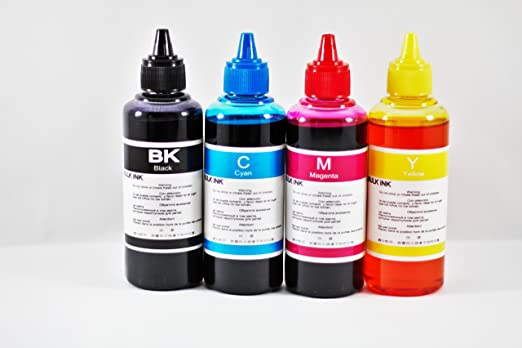 Tinta para Recarga Compatible Epson pack 4 botellas 100ml + Jeringas y Agujas para Recarga: Amazon.es: Electrónica