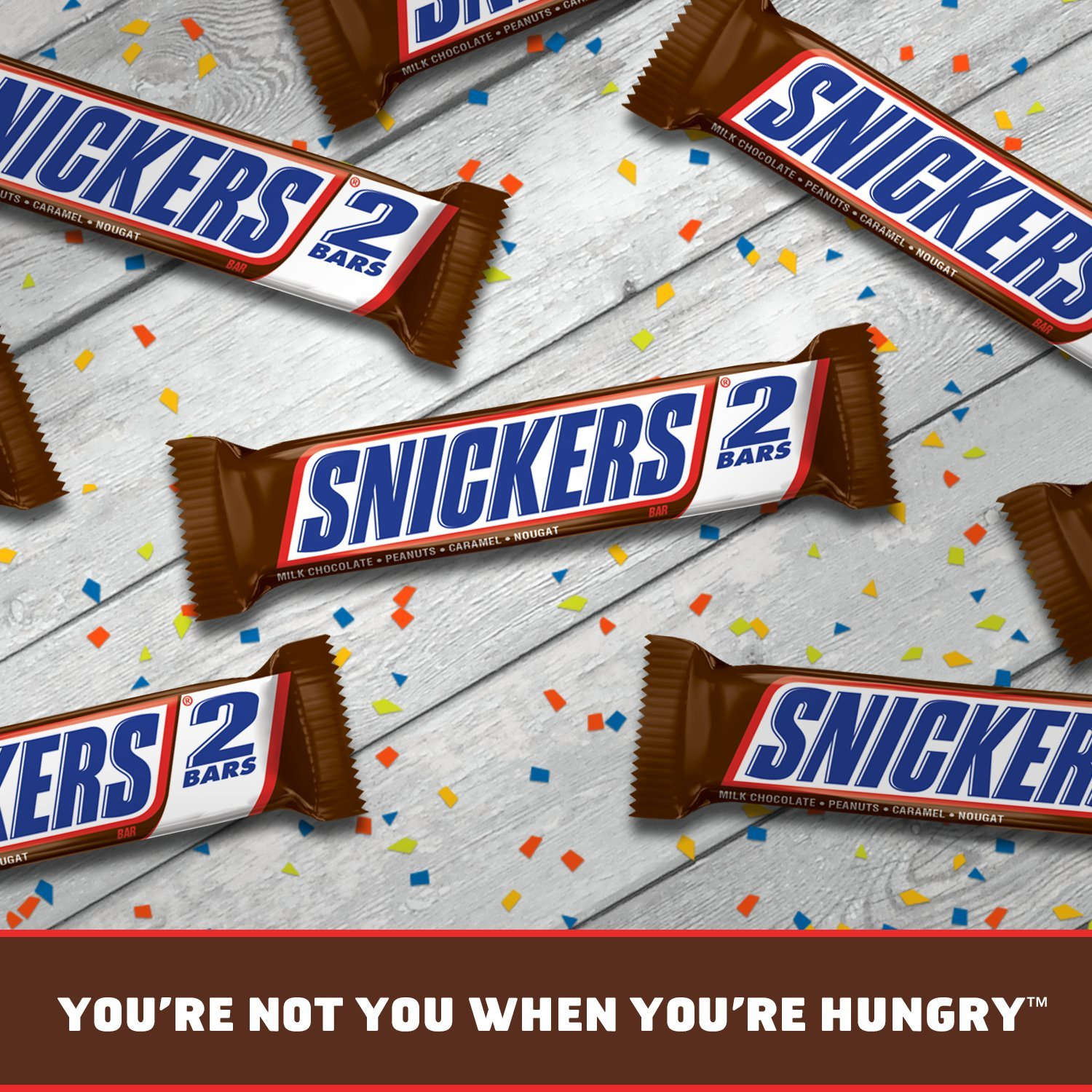 Amazon.com : SNICKERS Sharing Size Chocolate Candy Bars 3.29-Ounce ...
