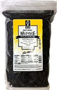 Goose Valley Natural Wild Rice - Family Reserve 5 lbs (Pack of 2) - Variety of Jumbo High Fiber and High Protein Whole Grain Rice for Healthy Heart