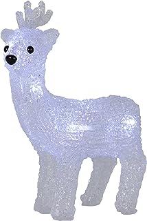 STAR 583–75luce decorativa, plastica, bianco, 17,5x 6,5x 21cm