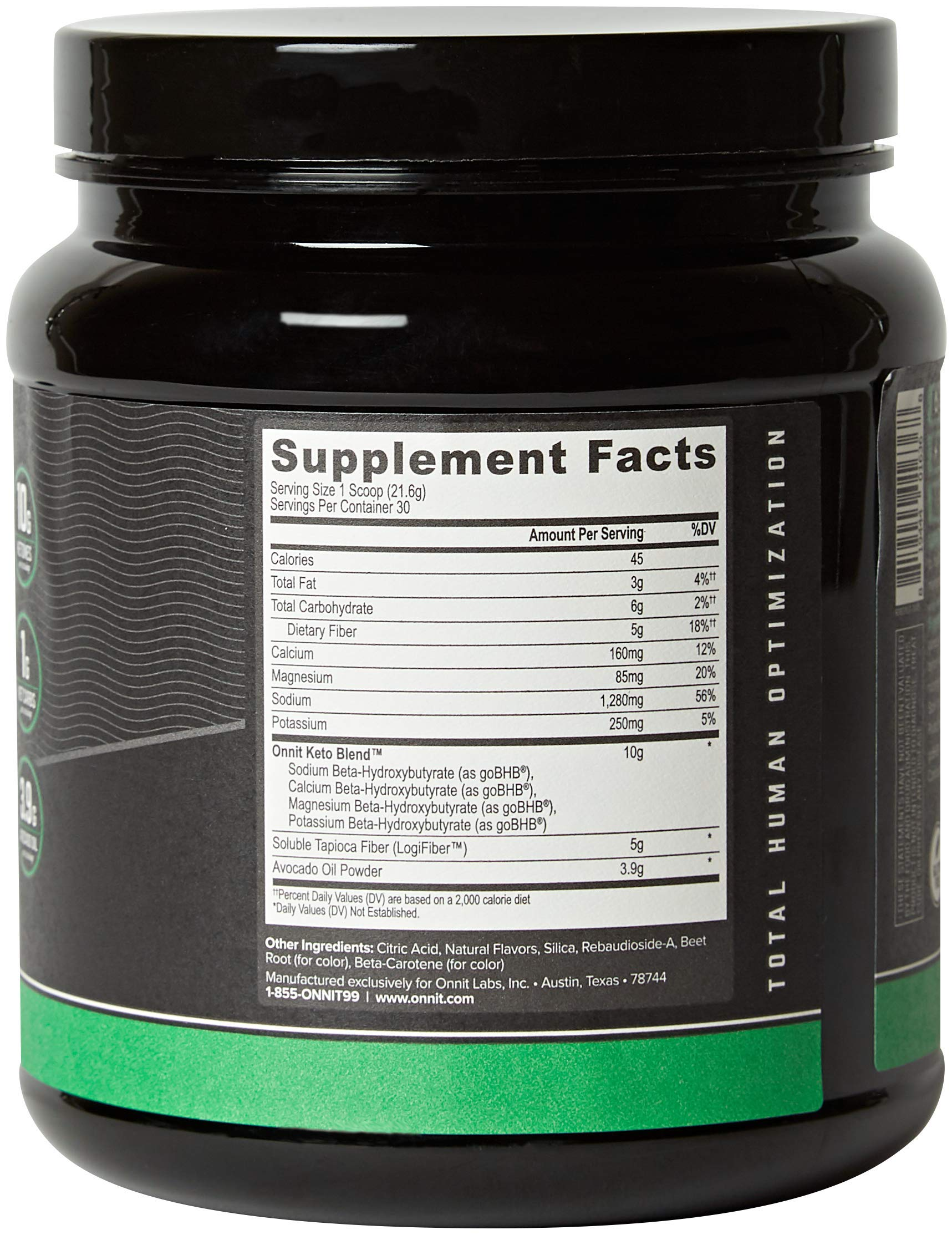 ONNIT Total Keto | Exogenous Ketones Supplement for Low Carb Diet | Premium Value Keto Supplement at 300g Ketone per Tub | Perfect Keto Fuel for Keto Shakes | Watermelon Flavor | 30 Servings by ONNIT (Image #2)