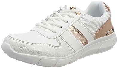 TOM TAILOR Damen 4891705 Sneaker, Weiß (White), 37 EU