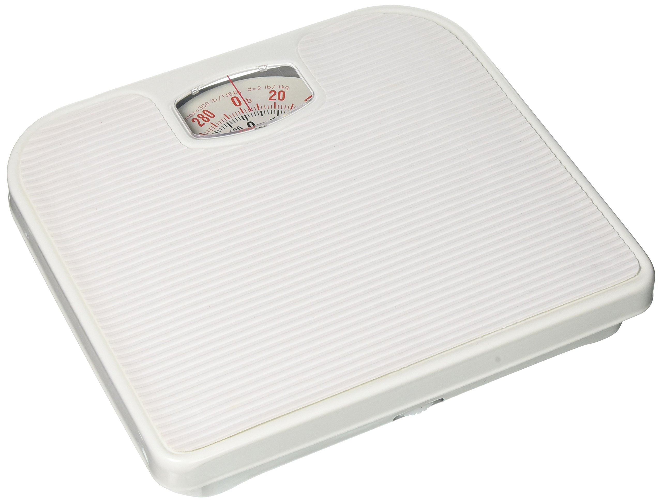 Uniware Mechanical Personal Scale (Black) Maximum Weight 130 Kg / 286lb [8516]