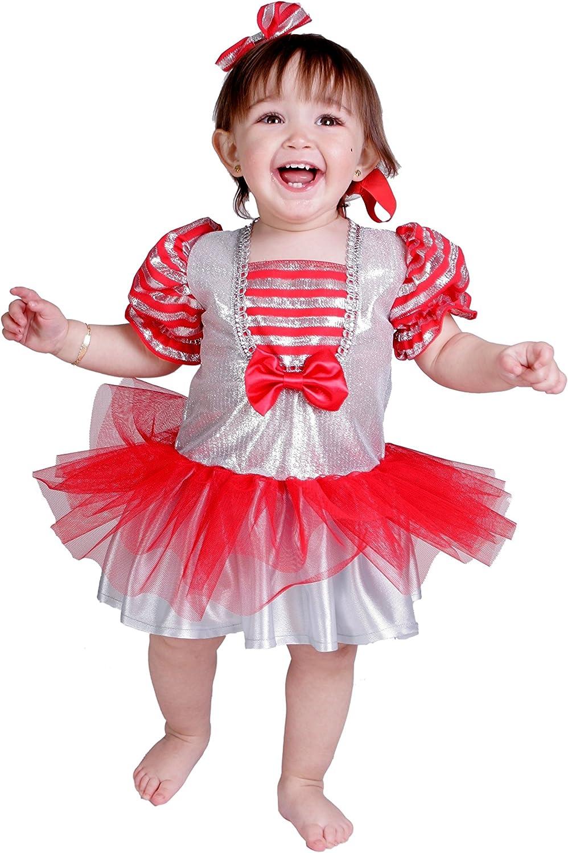 Nines dOnil Export - Disfraz de cabaretera para bebés, Color Rojo ...