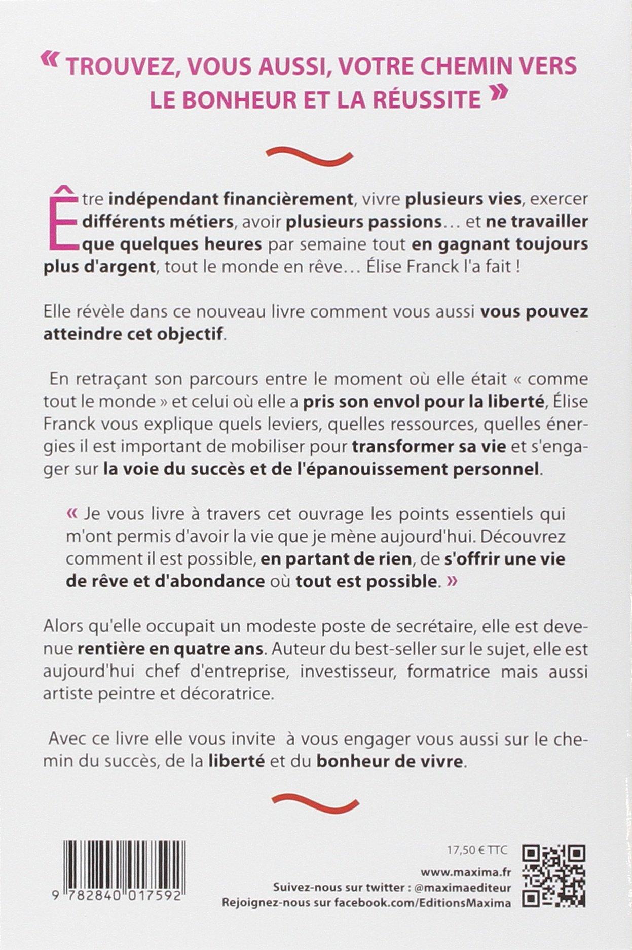 Mon chemin vers la réussite: Amazon.es: Elise Franck: Libros en idiomas extranjeros