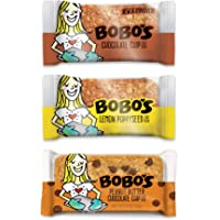 Bobo's Oat Bars, Variety Pack, 3 oz Bar (12 Pack) (3 of Each Flavor), Gluten Free Whole Grain Snack